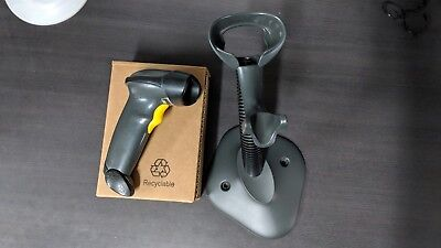 Symbol LS2208 Barcode Scanner and Stand
