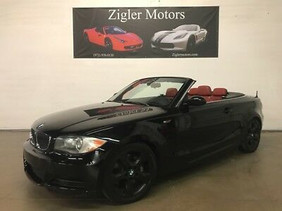 2009 BMW 3-Series  2009 BMW 135i  M Package Convertible Red Interior
