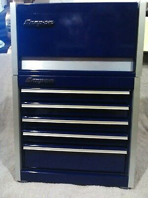 Snap-On Blue Mini Tool Box - Top And Bottom - Used