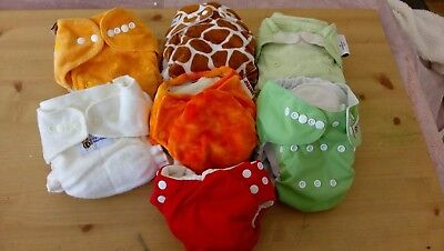 Cloth Nappies In Excellent Condition