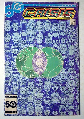 Crisis on Infinite Earths #5 Copper Age DC Comic Book 1985 FN-