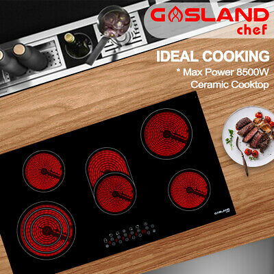 GASLAND chef 90CM Ceramic Cooktop 5 Zones Cooker Touch Control Electric Burners