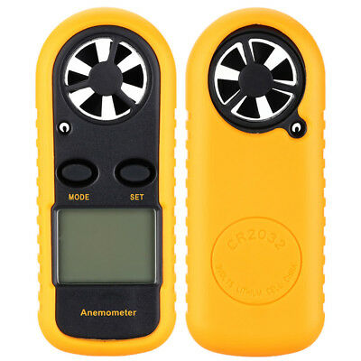Digital LCD Air Wind Speed Anemometer Temp Meter Tester Thermometer DT