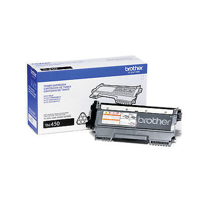 Brother Genuine TN450 High Yield Black Toner Cartridge - Free Shipping