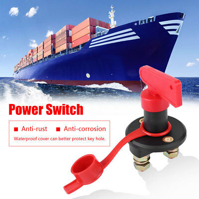 12V/24V 200A Car Boat Battery Isolator Disconnect Cut OFF Power Kill Switch AP