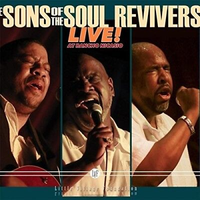 Live At Rancho Nicasio - Sons Of The Soul Revivers (2017, CD NEU)