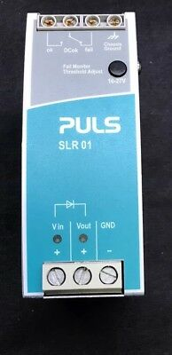 Puls SLR01 - 24V 40A Diode Redundancy Module With Voltage Alarm Monitor Contacts