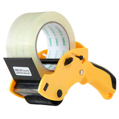 1pc Large Tape Sealing Packer 6cm Width Tape Holder Cutter Tape Dispenser
