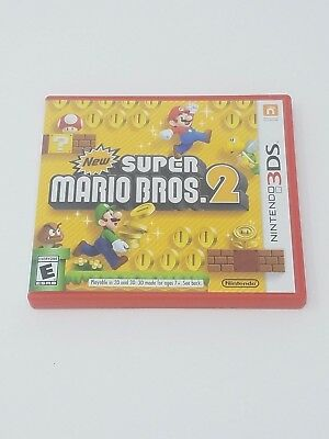 New Super Mario Bros. 2 (Nintendo 3DS) CASE ONLY, NO GAME OR INSTRUCTIONS!!