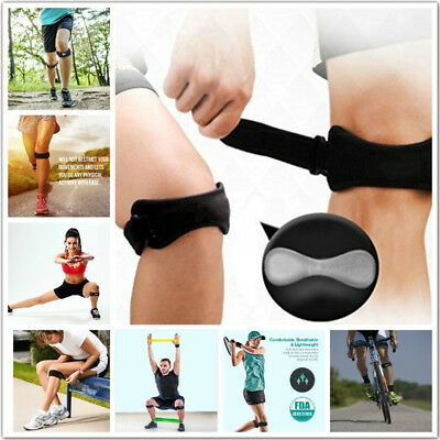 Adjustable Sport Gym Patella Tendon Knee Support Brace Strap Band Wrap Protector