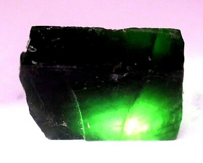 168 Ct Nice Natural Translucent Green Serpentine Earth Mined Facet Slab Rough
