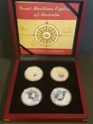 GREAT MARITIME EXPLORERS of AUSTRALIA - LIMITED EDITION COIN COLLECTION
