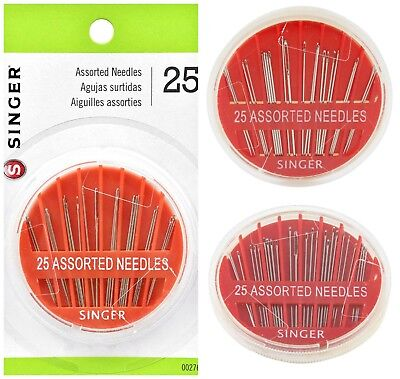 Hand Sewing Needles Lot Embroidery Darners Sharps Assorted Needle Sewer Tools