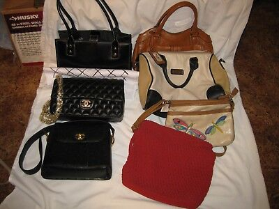 Mix Lot of Purses, Qty. 7 ***NICE*** Estate Find NAME BRANDS