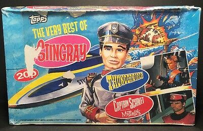 1993 Topps THE VERY BEST OF STINGRAY Trading Cards Box of Packs