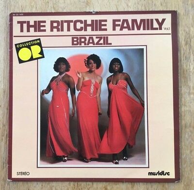 """12"""" 1976 The Ritchie Family  -  Brazil vol 1 collection"""