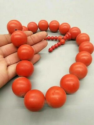 old chinese handwork true cinnabar carven beads hand strings bracelet