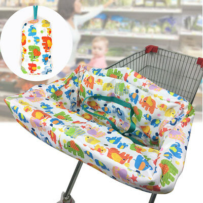 Shopping Trolley High Chair Cover Comfortable Pad Baby Toddler Child Protector