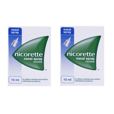 NICORETTE NASAL SPRAY 10ml 2x BOXES