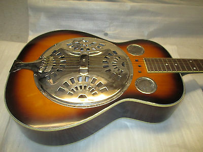 Resonator Steel String - Round Neck