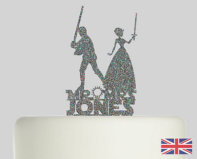Star Wars Personalised Cake topper Acrylic Glitter cake Decoration 772