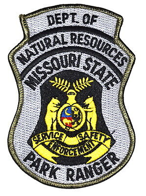 MISSOURI STATE – PARK RANGER – MO Police Sheriff Patch DEPT NATURAL RESOURCES ~