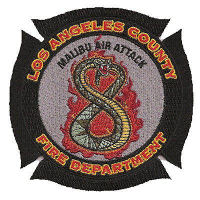 La County Fire Dept. Station 8 Air Attack  California  Fire Patch