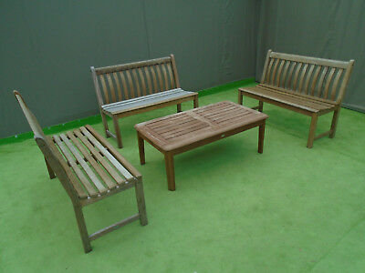 Swell Alexander Rose Garden Furniture 3 Cornis 4Ft Benches And Pabps2019 Chair Design Images Pabps2019Com