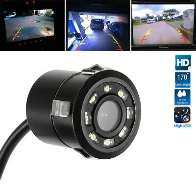 8 LED Auto Truck Retromarcia Telecamera posteriore Kit IR Night Vision Parking