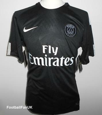 PSG Nike Official Third Shirt 2017-2018 NEW 3rd Jersey Maillot Paris St Germain
