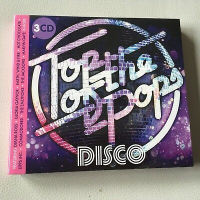 Top of the Pops - Disco - NEW & SEALED 3 x CD Set - FREE FAST UK POST!!