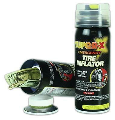 Stash Can Tire Inflator Look Diversion Hidden Safe Protect Hide GIFT 34-144