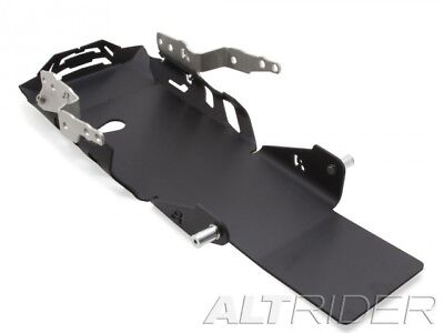AltRider Blac Skid Plate BMW R1200GS Water Cooled With BMW Crash Bars Installed