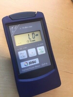 JDSU OLP-6 Optical Power Meter