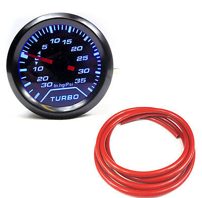 "BR 52mm 2"" Turbo Boost gauge 35 Psi Audi TT A3 S3 A4 A6 VW Golf Passat"