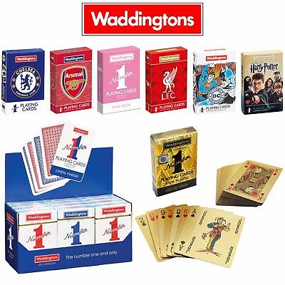 Classic Waddingtons Number 1 Playing Cards - Different colours and themes!