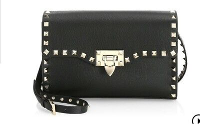 c7622070ccd5c VALENTINO GARAVANI NEW With Defects Medium Rockstud Rolling Bag ...