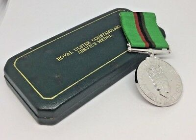 royal ulster constabulary Service Medal R/const S J Moore