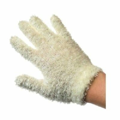 1 Pair Cream Girls Kids Feathersoft Touch Magic Gloves Warm Winter One Size