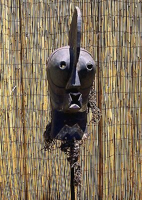 """African Songye Kifwebe Male Mask From The DRC Congo 24 """" Tall WAS $395"""