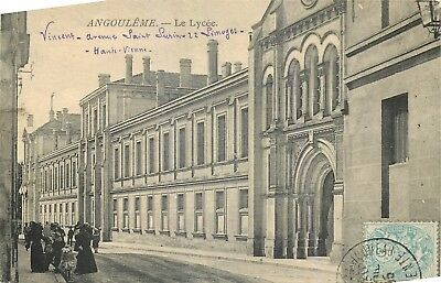 Cp Angouleme Le Lycee Anime