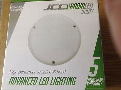 JCC RadiaLED Utility High Performance LED IP65 Bulkhead 14W LED JC23201