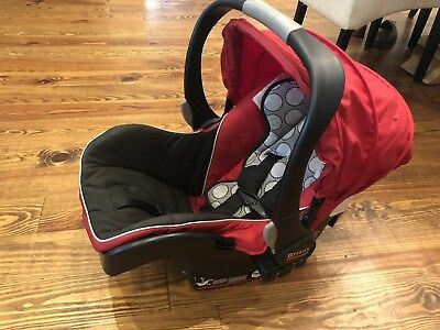 BRITAX B-Safe Black Infant Car Seat Red/Black