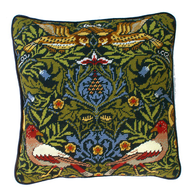 Bothy Threads ~ Tapestry Cushion Front Kit ~ William Morris ~ Bird ~ TAC2