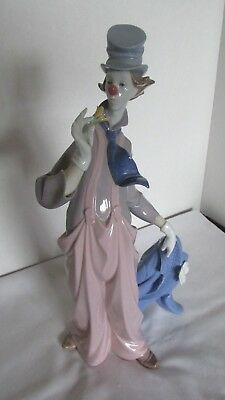 """Lladro A Mile Of Style 1998 Vanguard Dealers Signed 6507 Clown 13.5""""h Orig Box"""