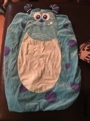 Monsters Inc Sullen Changing Pad Cover