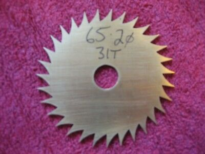 Longcase / Bracket Clock Calendar / Date wheel. (31 teeth, 65.2mm diameter)