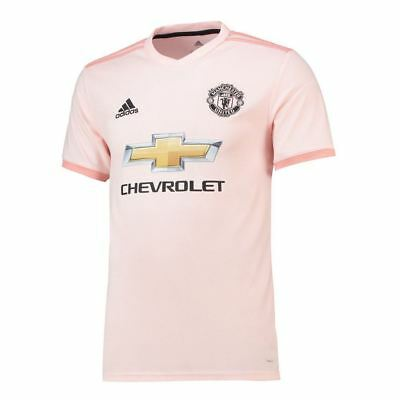 Manchester United Adidas Away Shirt 2018/19 (Kids)