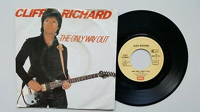 "7""-Vinyl-Single - CLIFF RICHARD - ""The Only Way Out / Under The..."" - (1982)"