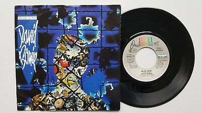 "7""-Vinyl-Single - DAVID BOWIE - ""Blue Jean / Dancing With The Big Boys"" - (1984)"